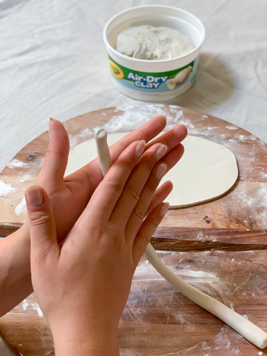 DIY Clay Plates